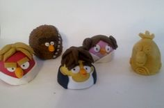 Angry Birds Star Wars Large Cake Balls!