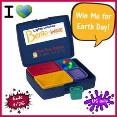 #Win a Bento Lunch Box & Other Items for Earth Day!