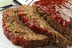 Try the Meatless BBQ 'Meatloaf. This Meatless BBQ 'Meatloaf' will change your mind about what has to go into meatloaf recipes. Vegetarian Meatloaf, Bbq Meatloaf, Meatloaf Recipes, Italian Meatloaf, Good Meatloaf Recipe, Turkey Meatloaf, Meat Recipes, Vegetarian Recipes, Cooking Recipes