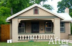 check out this old run down vacant house we restored!