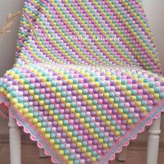 Manta Crochet, Crochet Mandala, Crochet Shawl, Crochet Stitches, Crochet Baby, Crochet Squares, Crochet Blanket Patterns, Baby Knitting Patterns, Baby Patterns