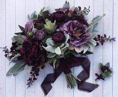 Items similar to Boho Bouquet, Plum and Iris Bouquet, Succulent Bouquet, Wildflower Bouquet, Bridal Bouquet on Etsy Bridal Bouquet Fall, Purple Wedding Bouquets, Bride Bouquets, Floral Wedding, Plum Wedding Flowers, Plum Wedding Colors, Flower Bouquets, Iris Wedding Bouquet, Lavender Bouquet