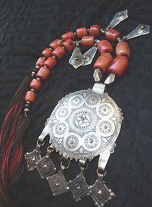 Africa Old Fine Berber Necklace South Morocco | eBay