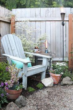 The Inspired Room Backyard Corner