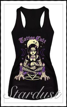 Camiseta tattoo Cult