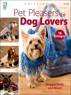 Knitting - Pet Pleasers for Dog Lovers - #121034E