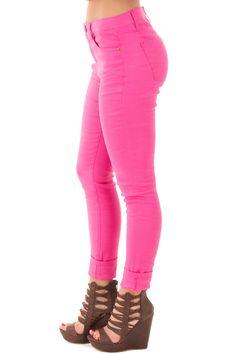Lime Lush Boutique - Hot Pink Skinny Linen Pants, $52.99 (https://www.limelush.com/hot-pink-skinny-linen-pants/)#fashion#spring#happy#photooftheday#followme#follow#cute#tagforlikes#beautiful#girl#like#selfie#picoftheday#summer#fun#smile#friends#like4like#pinterestfollowers