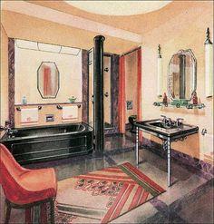1931 Crane Bath by American Vintage Home, via Flickr