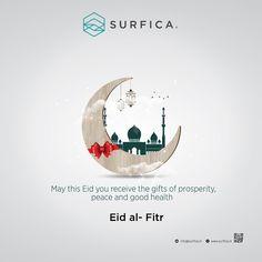 May this Eid you receive the gifts of prosperity, peace and good health Eid Mubarak. Eid Al Fitr, Modern Kitchens, Hanuman, Eid Mubarak, Design Templates, Islamic Quotes, Festivals, Peace, Graphic Design