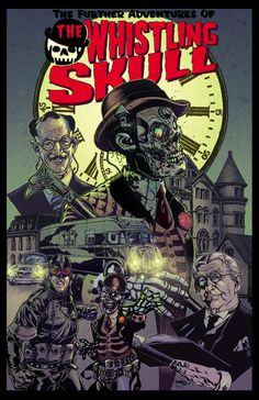 An early promotional cover for The Whistling Skull series, before it was absorbed by DC.