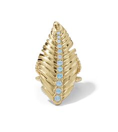 Lia Sophia elaborate gold ring from Red Carpet collection. Gifts for her.