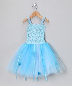 Made especially for the petite princess, this dress features a stretchy bodice atop layers of prim tulle. Add in the swirls of sequins and touches of satin rosettes and this piece was made to be worn with a big grin and playful imagination.100% polyesterHand wash; hang dryImported
