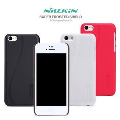 Nillkin Matte Textured Super Shield Hard Shell Case for Apple iPhone 5 C Extremely high quality case made by Nillkin. This is a 100% genuine item, so beware of