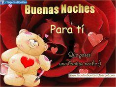 buenas noches con bellas rosas | de Buenas Noches Bonitas para Facebook | Imágenes de Buenas Noches ...