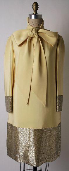 Norman Norell Silk Evening Dress, 1964