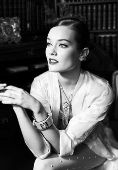 Jac Jagaciak is 20s Chic in Chanel Fine Jewelry Feature