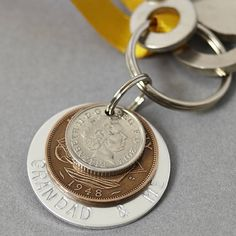 grandad and me keyring by mw studio | notonthehighstreet.com