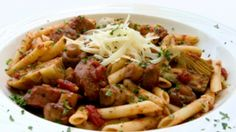 Penne with Mushrooms and Artichokes | The Dr. Oz Show