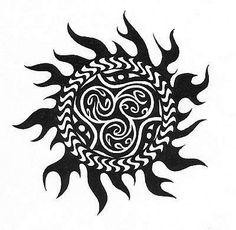 sun tattoo drawing O Sunny Day Pinterest Tattoo Tatoo