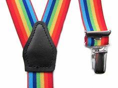 Kinderbretel regenboogkleuren