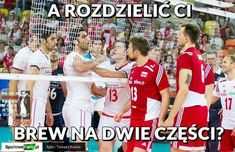 Image about Poland in Volleyball by Alex🦄❤ on We Heart It Volleyball Memes, Poland, We Heart It, Sporty, Baseball Cards, Funny, Life, Mood, Author