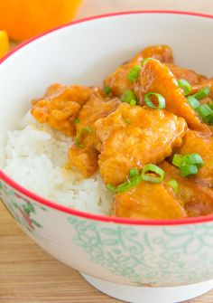 Dinner in 20 minutes! Orange Chicken is so easy to make at home. Skip the Chinese takeout!