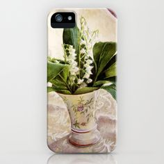 Lily of the Valley iPhone & iPod Case by Vargamari - $35.00