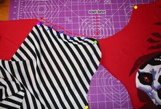 Easy way to sew a set in sleeve; do it BEFORE the side seams are sewn
