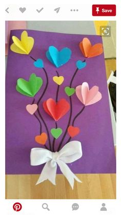 Spring Crafts For Kids Art For Kids Spring Art Easter Crafts Preschool Crafts Art Classroom Future Classroom Flower Crafts Flower Art Kids Crafts, Diy Mother's Day Crafts, Mothers Day Crafts For Kids, Valentine Crafts For Kids, Spring Crafts For Kids, Mother's Day Diy, Mothers Day Cards, Valentine Day Crafts, Preschool Crafts