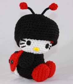 Hello Kitty Red Ladybug