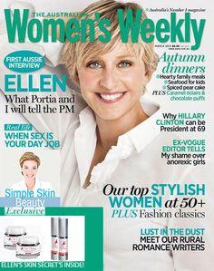 Women's Health - Ellen's Secret Exposed!