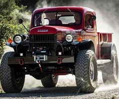 Make off-road excursions memorable by traversing the wild landscapes behind the wheel of this Legacy Classic Power Wagon. It combines the old world charm of vintage trucks with modern amenities like a 430 hp 426 Hemi V8, a boxed frame, Recaro seats and more.