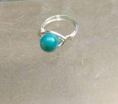 Blue Shell by Jewelrybyila on Etsy