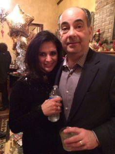 Frank and Liliana Casseb at Zlotucha party
