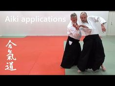 AIKI (joining energies) applications in aikido, by Stefan Stenudd, 7 dan Aikikai shihan - YouTube