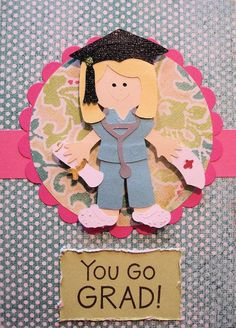 Nurse Graduation Nursing School Greeting Card by LuckyLuCreations, $5.50