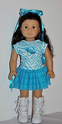 American Made Doll Clothes for 18 inch Girl Dolls Dress Lot 1002   eBay