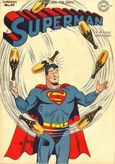 Superman, vol.1 #47...Wayne Boring, cover art