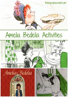 31 Days of Read-Alouds: Amelia Bedelia ~ such a fun book that kids of all ages will enjoy reading it and participating in these recommended extension activities! | The Happy Housewife