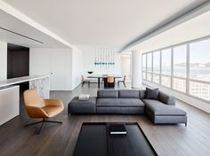 GT Private Residence is a minimal apartment located in San Francisco, California, designed by Garcia Tamjidi Architecture Design Luxury Home Decor, Unique Home Decor, Cheap Home Decor, Luxury Homes, Living Room Interior, Living Room Decor, Minimal Apartment, Architecture Design, Lofts
