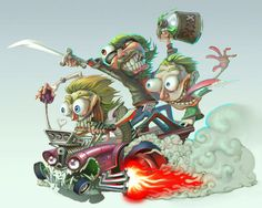 SS RatFink'ed in COLOR by DaveIgo on deviantART
