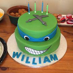 #TMNT #ninja  ninja turtle cake