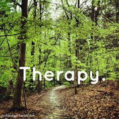 trail run therapy
