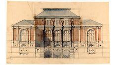 Richard Morris Hunt's design for the Lenox Library, New York City   ARCHI/MAPS : Photo