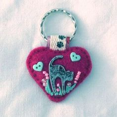 Cat Keyring. Totally gorgeous