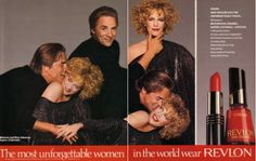 Don Johnson and Melanie Griffith in Revlon ad