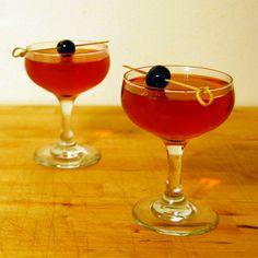 Sir Thomas 2 oz. bourbon ½ oz. cherry bourbon (or brandy) ½ oz. triple sec ½ oz. dry vermouth