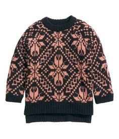 Product Detail | H&M EG Jacquard-knit jumper