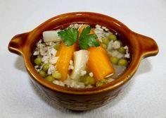 (7) Darálthúsos leves   Alajuli receptje - Cookpad receptek Izu, Hummus, Thai Red Curry, Soup Recipes, Pork, Ethnic Recipes, Desserts, Soups, Diet