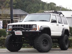 Looking to customize your Jeep? We carry a wide variety of Jeep accessories including dash kits, window tint, light tint, wraps and more. Old Jeep, Jeep 4x4, Jeep Truck, Jeep Xj Mods, Volkswagen, White Jeep, Cool Jeeps, Jeep Accessories, Expedition Vehicle
